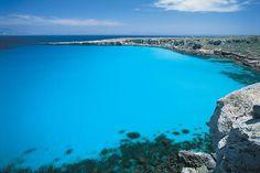 Playa Favignana en Sicilia