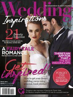 #weddinginspirationsmag Winter 2015 issue cover