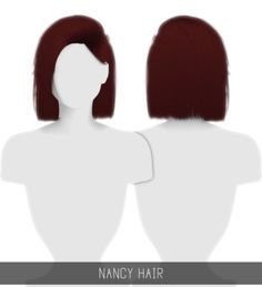 Nancy Hair for The Sims 4 by Simpliciaty