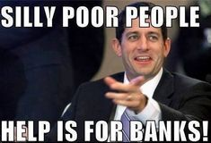 Pic Of The Moment: Paul Ryan Holds Congressional Hearing On Poverty, Excludes Poor People - Democratic Underground Paul Ryan, Republican Party, Christen, Social Issues, I Laughed, Religion, Hilarious, Humor, Shit Happens