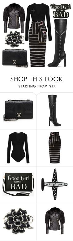 """Styling"" by ellenfischerbeauty ❤ liked on Polyvore featuring Chanel, Yves Saint Laurent, Donna Karan, Preen and Torrid"