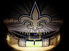 New Orleans saints New Orleans Saints Football, All Saints Day, Who Dat, All Things New, Superhero Logos, Table Lamp, Instagram, Art, Louisiana