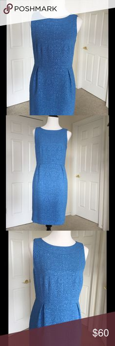 """🆕 Gorgeous Blue Ann Taylor Dress NWT Prepare to be admired in this exquisite dress! Perfect for all your Spring & Summer special occasions. Lightweight, gorgeous robins egg blue fabric. Sleeveless. Fully lined. Concealed back zipper. 38"""" Bust 32"""" Waist 41"""" Hip 36"""" Length from shoulder. New with tags 🎀Bundle discount  ⭐️5 star rated Suggested User 🚭Smoke free home 🚫No trades please  😍 Thank you for shopping with me. Please ask all questions before purchase Ann Taylor Dresses"""