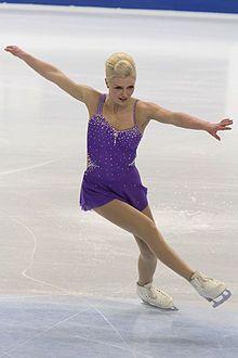 Viktoria Helgesson -Purple Figure Skating / Ice Skating dress inspiration for Sk8 Gr8 Designs.