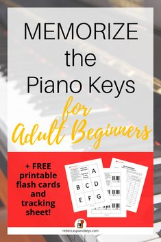 Why you should never, EVER use piano key stickers when learning piano. Use my free flash cards instead for greater SUCCESS! Learn Piano Beginner, Piano Lessons For Beginners, How To Learn Piano, Piano Songs, Piano Music, Piano Keys Labeled, Teach Yourself Piano, Jouer Du Piano, Piano Classes