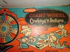 Vintage Giant Wheel Cowboysn Indians Board Game Rare In Box Games Box, Games To Play, Game Museum, Bored Games, Game Google, Baby Boomer, Vintage Board Games, Cowboys And Indians, The Past