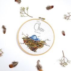 What precious little gifts have been entrusted to you new and nesting moms out there. Sweet personalized family hoops for you to cherish your growing family  available at www.bethcolletti.com  #newmomgift #newmom #preciousmoments #nestingmode