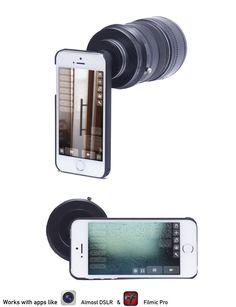 TURN-I-KIT a Lens adapter for your iPhone 5 & 5S by Steve Johnston — Kickstarter