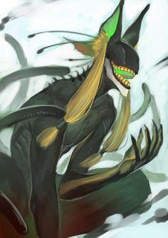 "Find more on the ""Creativity+Fantasy"" board. Monster Concept Art, Fantasy Monster, Monster Art, Mythical Creatures Art, Fantasy Creatures, Creature Concept Art, Creature Design, Character Concept, Character Art"