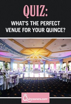 Take this QUIZ to know what venue fits your style <3 | Venue Ideas | Venue for Quinceanera |
