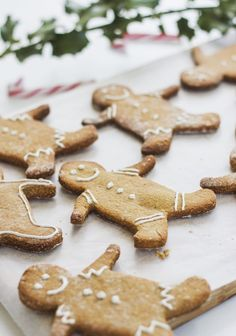 'Tis the season to whip up some treats.  #greatist https://greatist.com/health/healthier-holiday-cookies