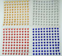 100 x 6mm star gems rhinestones self adhesive #diamante stick on #stars #craft ,  View more on the LINK: http://www.zeppy.io/product/gb/2/201374611757/