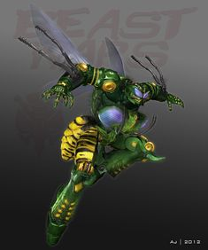 waspinator from beast wars. Transformers spin off and one of my favorite shows from the 90s