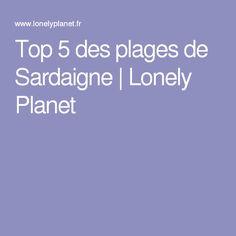 Top 5 des plages de Sardaigne | Lonely Planet