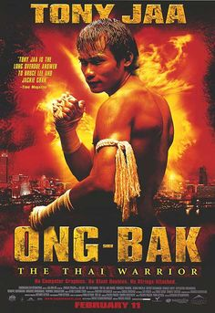 Ong Bak - Tony Jaa does some pretty amazing things in this flick. Ignore that the two sequels exist and you'll love this more. Tony Jaa, Muay Thai, Fight Movies, Fun Movies, Marvel Comics, Stunt Doubles, Martial Arts Movies, Kino Film, Cinema