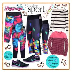 Leggings Wear by westcoastcharmed on Polyvore featuring polyvore, fashion, style, J.Crew, A.L.C., NIKE and Eject
