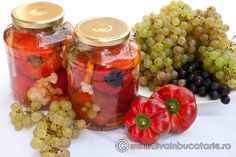 Romanian Food, Ketchup, Preserves, Pickles, Stuffed Peppers, Traditional, Vegetables, Cooking, Home