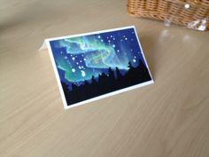 Kunstunterricht Aurora Borealis Mixed-Media Nightscapes – Paint On All The Tables Winter Art Projects, School Art Projects, Class Projects, Middle School Art, Art School, School Stuff, School Ideas, Aurora Borealis, Atelier D Art