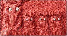 Diagramme hibou tricot