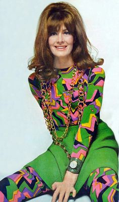 Vanessa Redgrave by Bert Stern. Vogue 1967