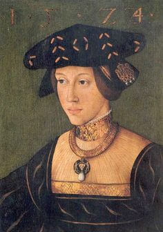 Mary of Hungary, wife of King Louis II of Hungary, sister of Emperor Charles V, 1522