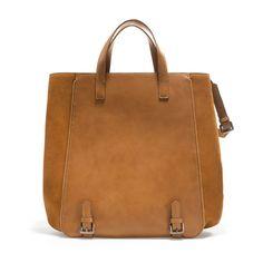 BUCKET BAG WITH BUCKLES  37 x 31 x 15 cm. / 14,5 x 12,2 x 6 inches.    89.90 USD