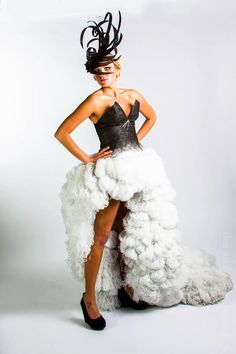 "IIDA Rocky Mountain Chapter FashionRemix  This is the dress I helped work on for Fashion Remix! Won ""Best of Show"""