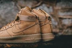 Available now. Nike Air Force 1 Hi 07 Flax.  http://ift.tt/1LWXCS3
