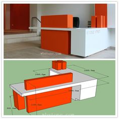 office furniture – My WordPress Website Office Reception Design, Modern Reception Desk, Reception Furniture, Modern Office Design, Office Furniture Design, Office Interior Design, Office Interiors, Contemporary Office, Counter Design