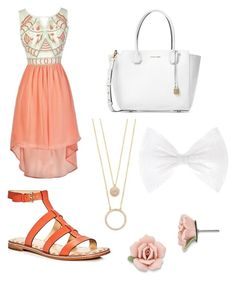 """""""story"""" by syddie-winchester on Polyvore featuring beauty, MICHAEL Michael Kors, Michael Kors, Kate Spade and 1928"""