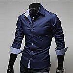T Bird 2018 Shirt Men Casual Dress Solid Color Long Sleeve Shirt Slim Camisa Masculina Men's Shirts Fashion Business Male Shirts Cheap Mens Shirts, Mens Shirts Online, Casual Shirts For Men, T Shirt Sport, Sweat Shirt, Shirt Men, Fall Shirts, Summer Shirts, Chemise Fashion