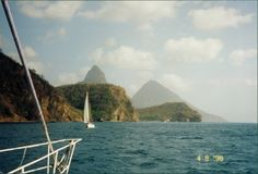 Sailing in St. Lucia