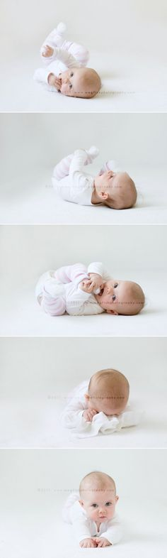 rolling over #baby #photo I can't even handle the cuteness
