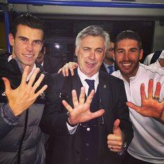 club de fansVictoria para seguir líderes y conseguir un nuevo récord de triunfos consecutivos.  Felicidades a mis compañeros y @MrAncelotti. H