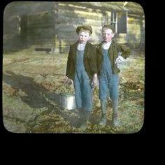 Mountain Boys on Way to School, ca. 1900-1915 - Kentucky Digital Library