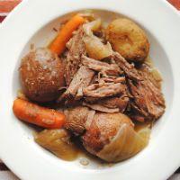roast beef close up
