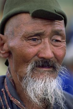 **Mongolian man - faces of the people  - https://www.pinterest.com/dominiep/aged-amazing/