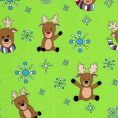 Fabric Finder's Print 1861 #christmasfabric #sewing #christmas #reindeer #snowflake