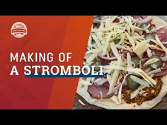 In this video, we made a ham and cheese Stromboli. Think steamy hot inside with a combination of ham, sopressata, grain mustard with pickles and onions.