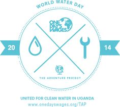 3 DAYS LEFT TO GIVE: www.onedayswages.org/TAP Access To Clean Water, World Days, The Unit