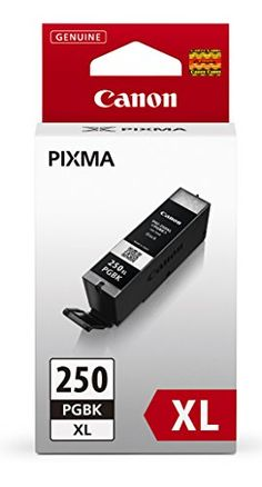 Canon PGI250 XL Black Ink Cartridge >>> More info could be found at the image url.