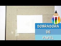Dobradora de Papel Caseira - YouTube