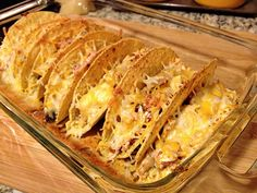 Rotisserie Chicken Oven Tacos - a healthy, light option for taco night! :)