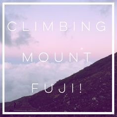 New post is up on Stylion.me! My hike up Mount Fuji and some tips I have from the journey. What an incredible experience! #japanblogger #climbingfuji #thingstodoinjapan