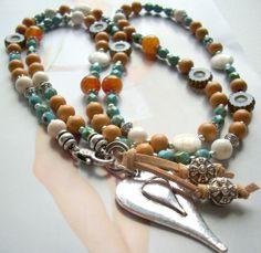 Bettelkette Langkette *Nature Love* von PerlenKULT auf DaWanda.com