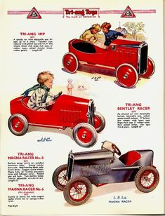 toy cars advertisement
