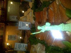 Even the Liberty lady likes delecious fish