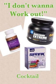 Not in the mood to work out?? Take all of these together. Train with Advocare products www.advocare.com/150628658
