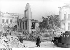 MAR 18 1945 Hitler wants apocalyptic destruction of Germany - See more at: http://ww2today.com The destruction by bombing of the Propaganda Ministry in central Berlin, 13 March 1945.