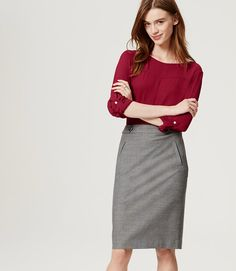 Primary Image of Seamed Blouse